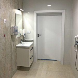Dom seniora lubelskie - Lawendowy Zakątek, łazienka z prysznicem